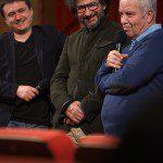 Cristian Mungiu, Radu Mihaileanu, Mihai Stanescu, foto Diana Oros