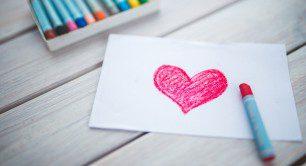 inima desenata