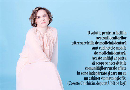 Despre nevoia de cabinete stomatologice mobile - Cossette Chichirău