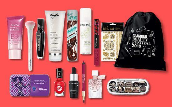 Goodie bag-ul GLAMOUR Beauty Festival 2018: un adevărat răsfăț de beauty - produse de beauty