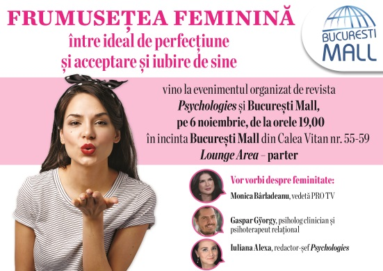 eveniment psychologies, frumusetea feminina