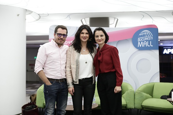 Iuliana Alexa, Gáspár György și Monica Barladeanu