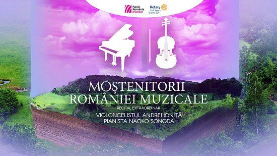 afis concert Moștenitorii României muzicale