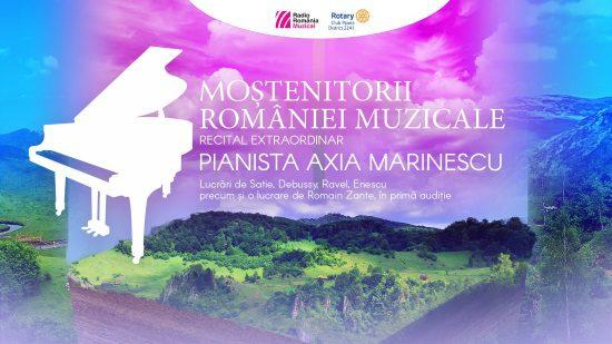 mostenitorii romaniei muzicale, recital pian