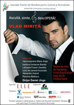 Vlad Mirita, concert