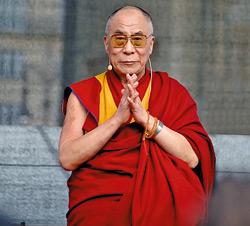 Dalai Lama,Tenzin Gytso, liderul spiritual al Tibetului